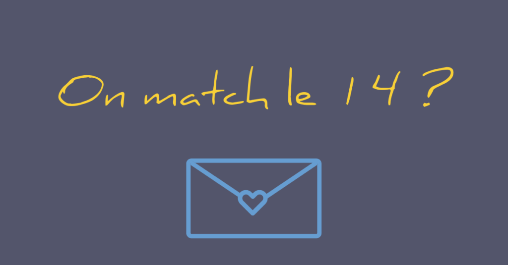 On match le 14